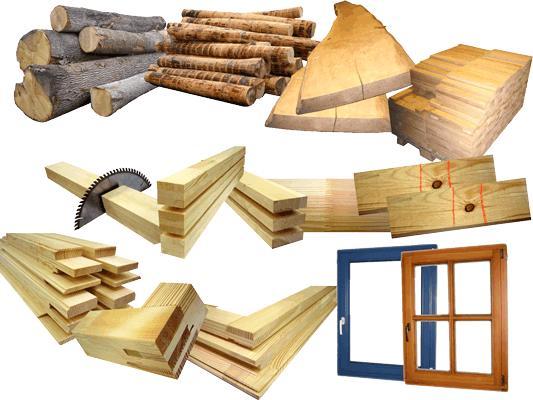 Средняя и минимальная прочность изделий из древесины