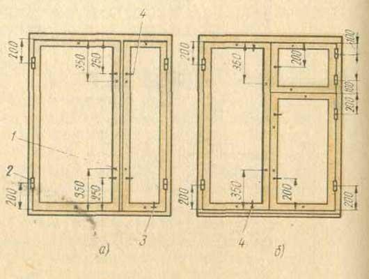 Сравнение оконных блоков со спаренными и с двойными переплетами