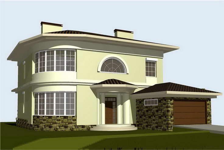 Строительство стандартных деревянных домов