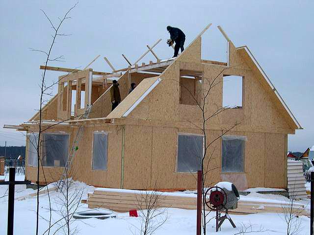 Особенности строительства в зимний период